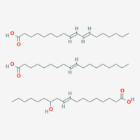 (E)-12-Hydroxyoctadec-9-Enoic Acid;(9E,11E)-Octadeca-9,11