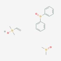 Dimethyl(oxo)silane;ethenyl-hydroxy-dimethylsilane;oxo(diphenyl)silane